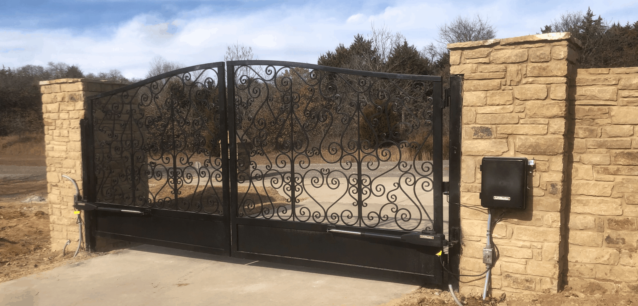 affordable access control for gates