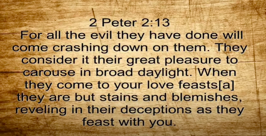 The Arrogance of False Teachers   2 Peter 2:13