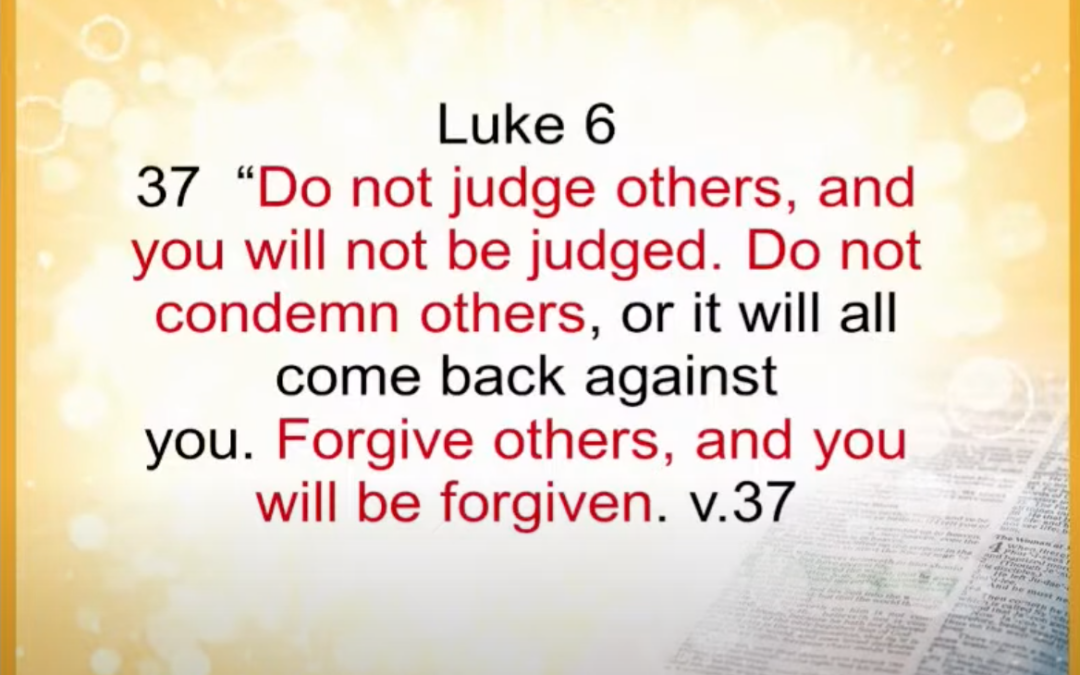 Living For Jesus 16 | Who Are You To Judge