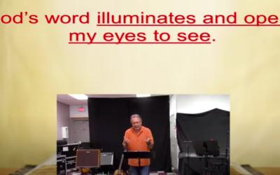Living for Jesus 25 | Eye Salve and Q-Tips