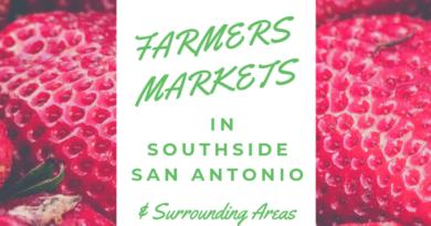 Farmers Markets in Southside San Antonio