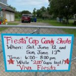 Southside Fiesta Candy Chute by Harlandale Graduates