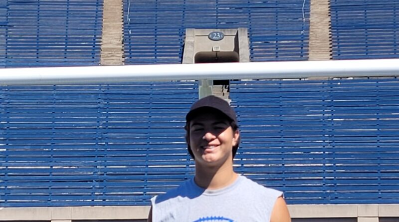 South San High School Varsity Football Player selected for San Antonio All-Star Football Game