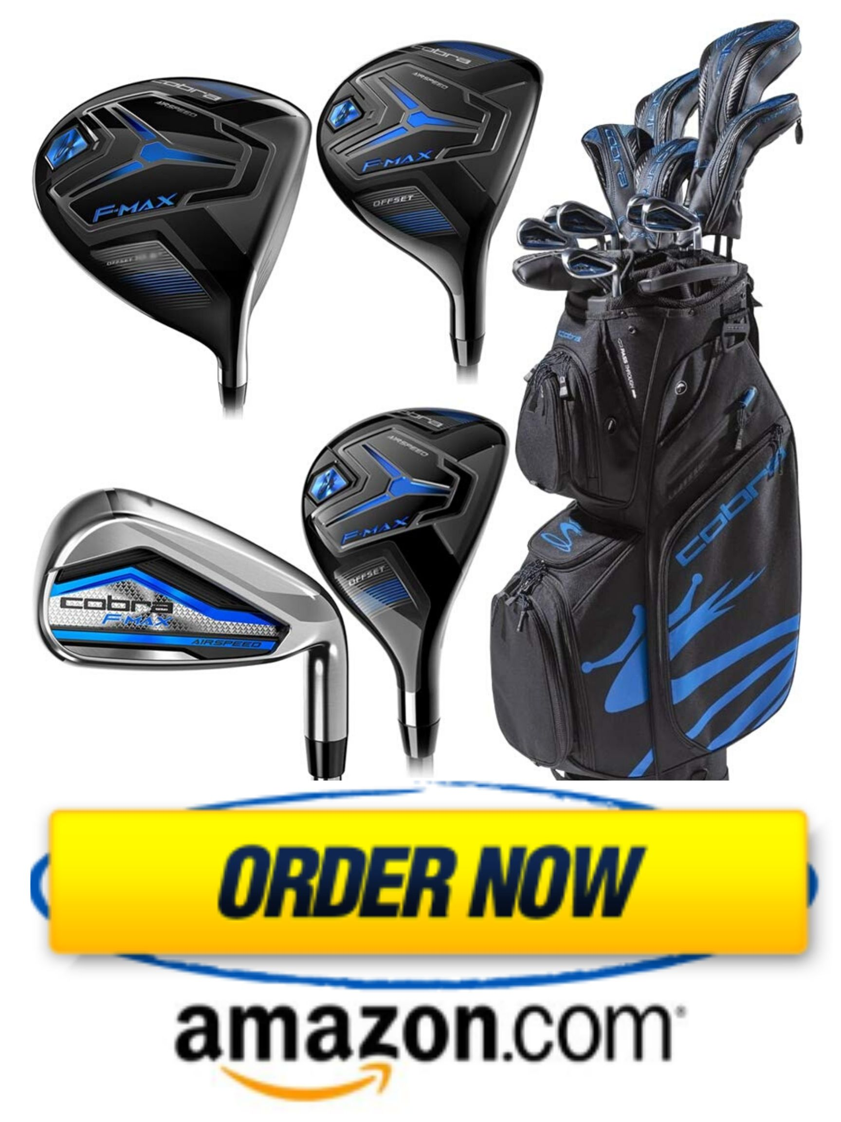 Cobra Golf 2020 Men's Airspeed Complete Set