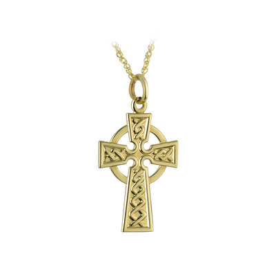 10k Gold Small Celtic Cross