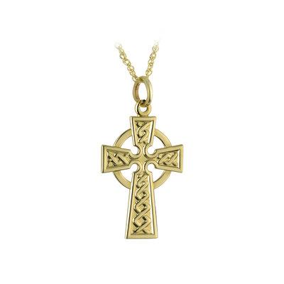 10k Gold Small Celtic Cross