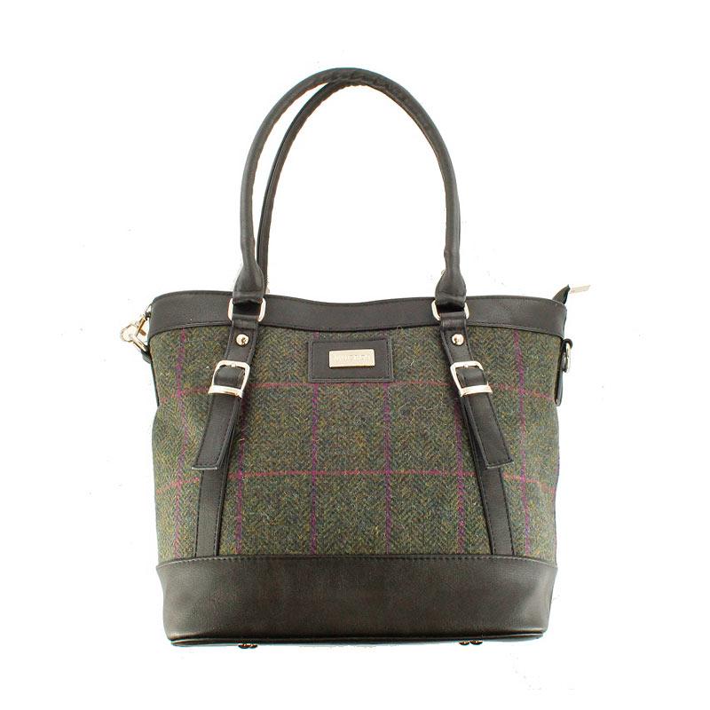 Irish Handbag Mucros Weavers Kelly 150