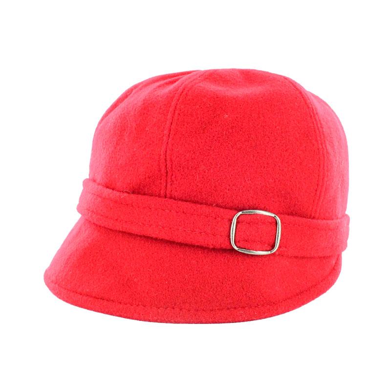 Ladies Irish Hat Flapper Red
