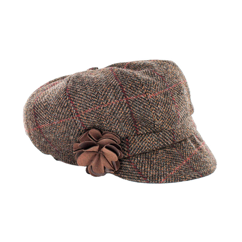 Ladies Irish Hat Newsboy