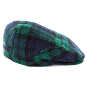 Irish Hats and Caps Trinity Cap Blackwatch