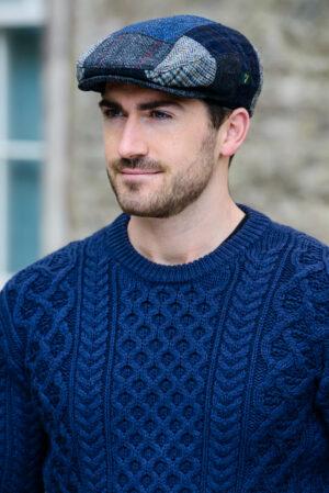 Irish Hats and Caps Trinity Cap Patchwork C