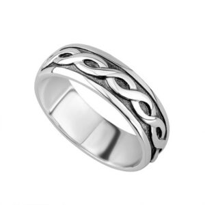 Silver Celtic Band - Gents - S2649
