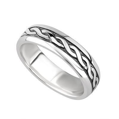 Silver Celtic Band - Ladies - S2648