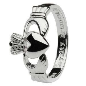 Gents Silver Claddagh Ring - SG7