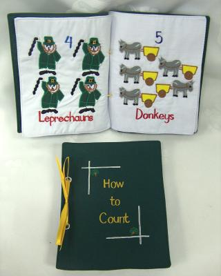 Irish How To Count Book