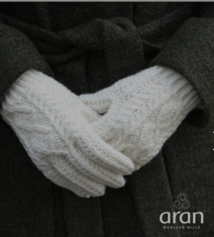 Merino Wool Aran Gloves - S174 669