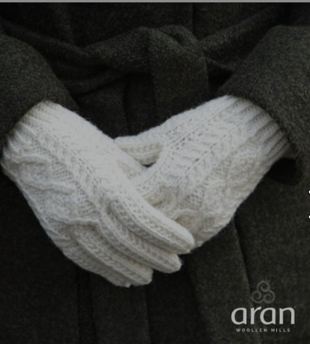 Merino Wool Aran Gloves - S174 669