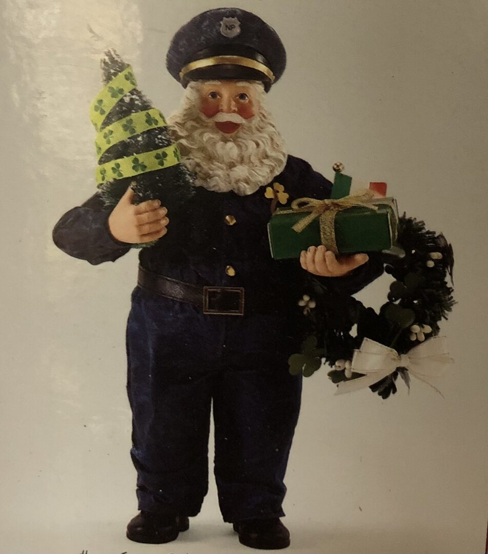 Police Officer Santa