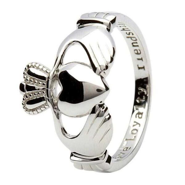 Silver Claddagh Ring - SL1