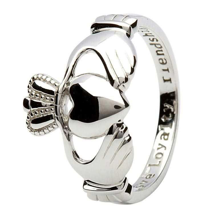 Silver Claddagh Ring - SL1