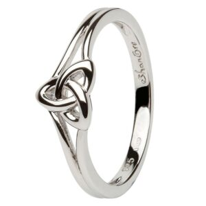Trinity Knot Sterling Silver Ring - SL99