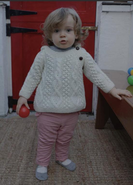 Baby Aran Hoodie R403-669