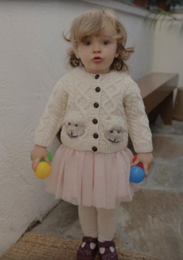 Baby Shepley Aran Cardigan R776-134