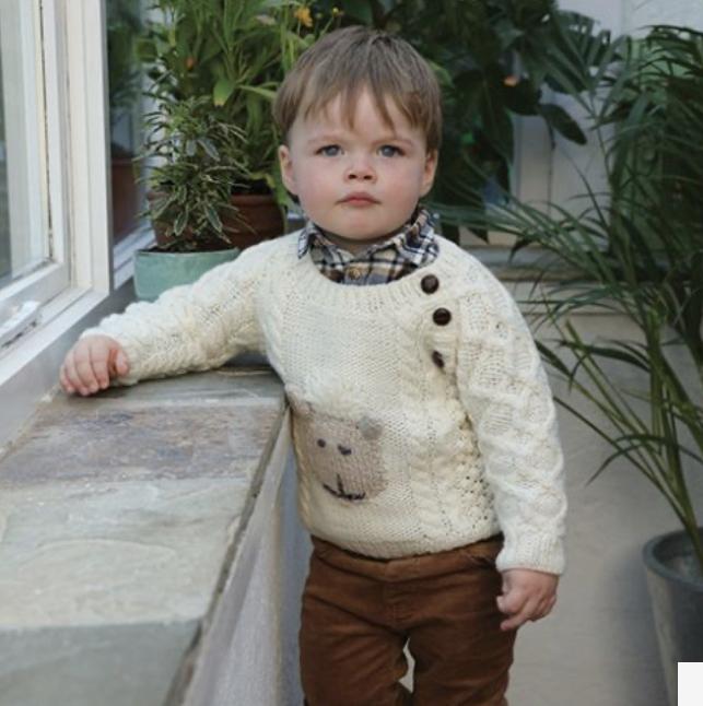 Baby Shepley Aran Sweater R726-134