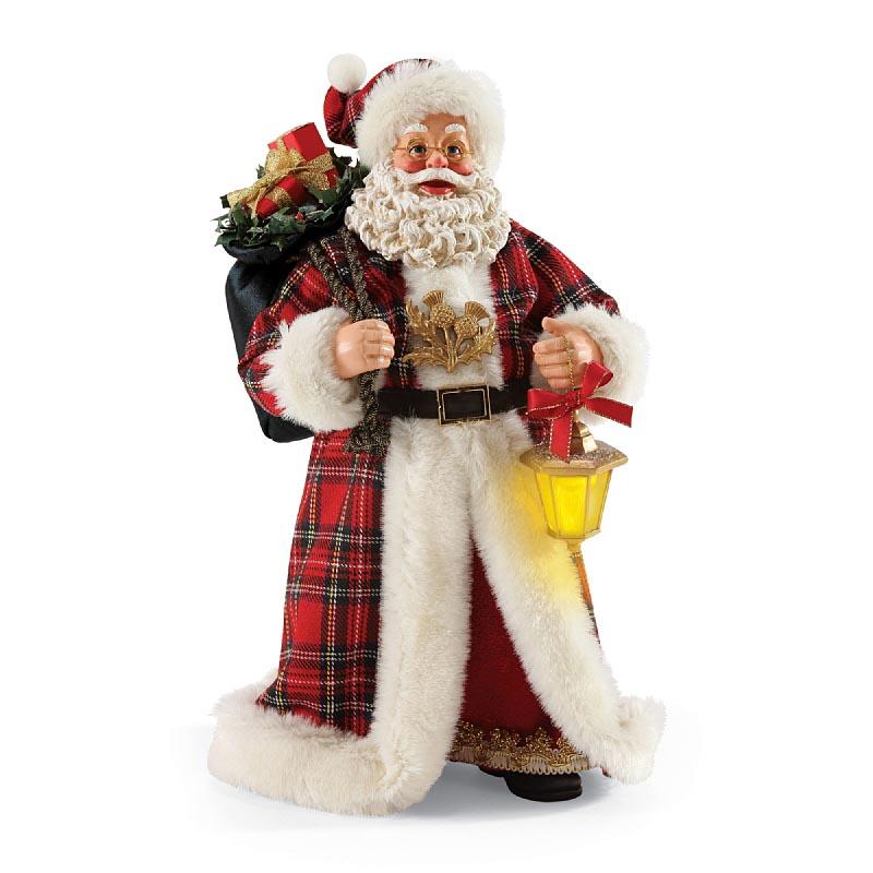 Irish Christmas - Plaid Tidings Santa PD4052112