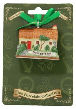 Irish Cottage Ornament
