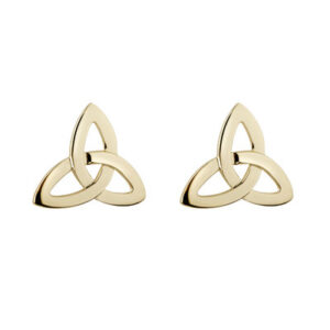 Trinity Knot Stud Earrings - 10K Gold S3774