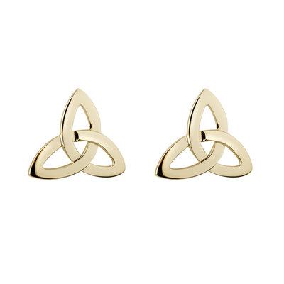 Trinity Knot Stud Earrings - 10K Gold S3774