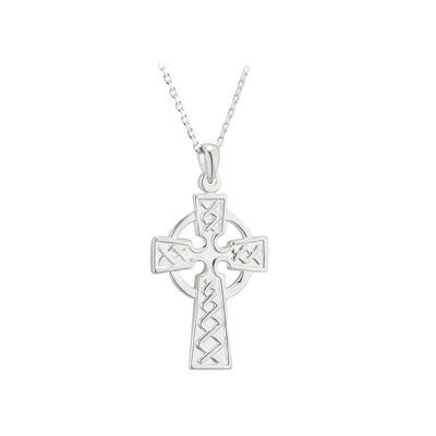 Sterling Silver Celtic Cross Medium