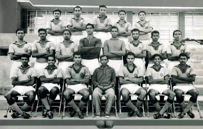 1960 Olympics India football team
