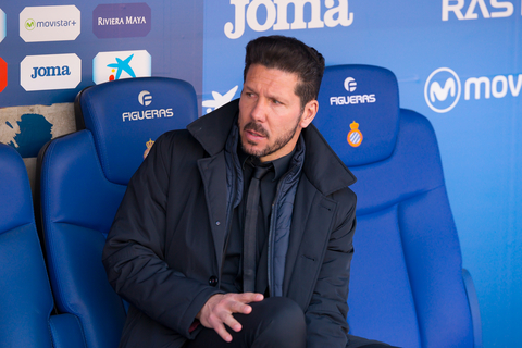 Diego Simeone - manager of Atletico