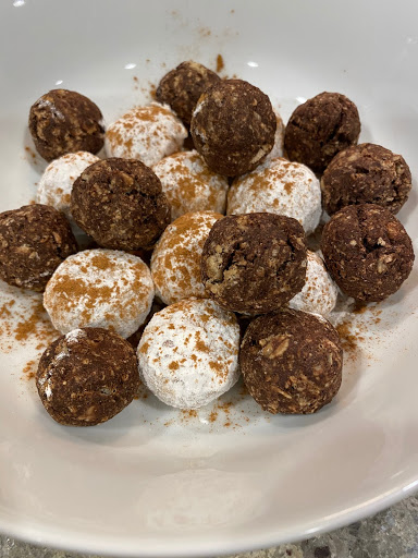 Protein Packed Donut Holes