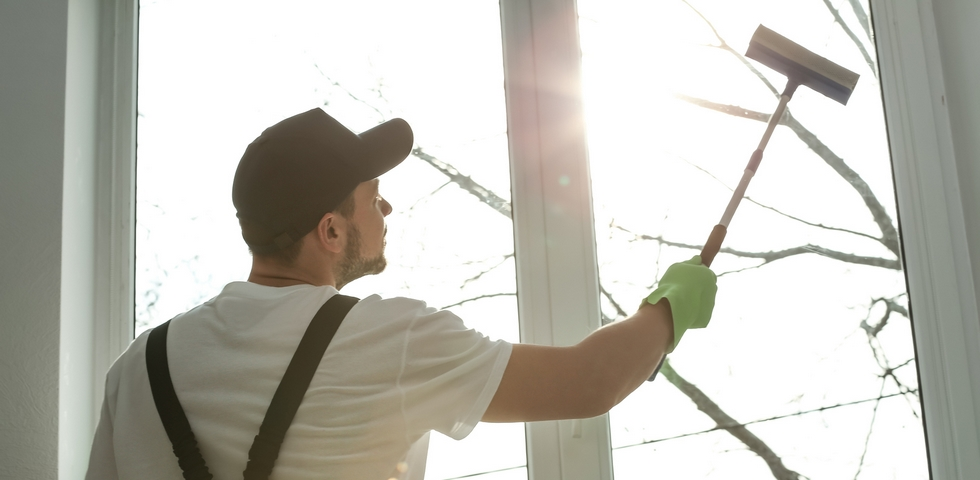 Pick the best time possible to wash your windows.