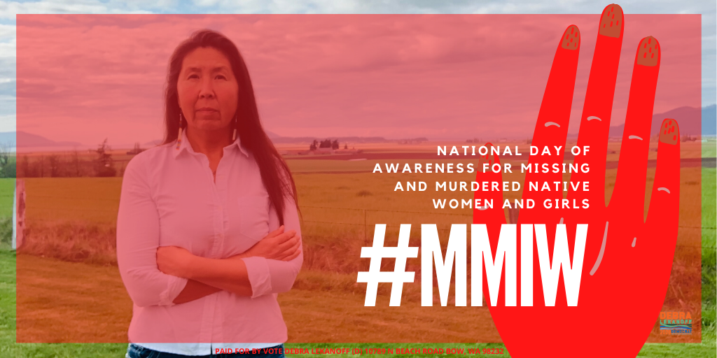 National Day of Awareness for Missing and Murdered Native Women and Girls
