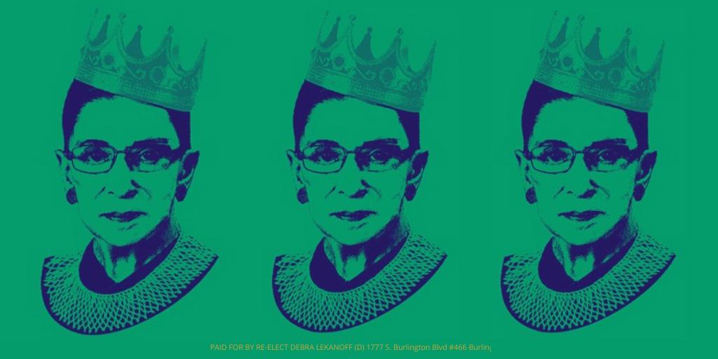 Rest Easy Justice Ruth Bader Ginsberg