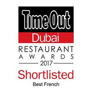 2017 Best French Restaurant – Shortlisted