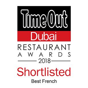 2018 Best French Restaurant – Shortlisted
