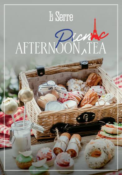 Afternoon Picnic Tea - La Serre