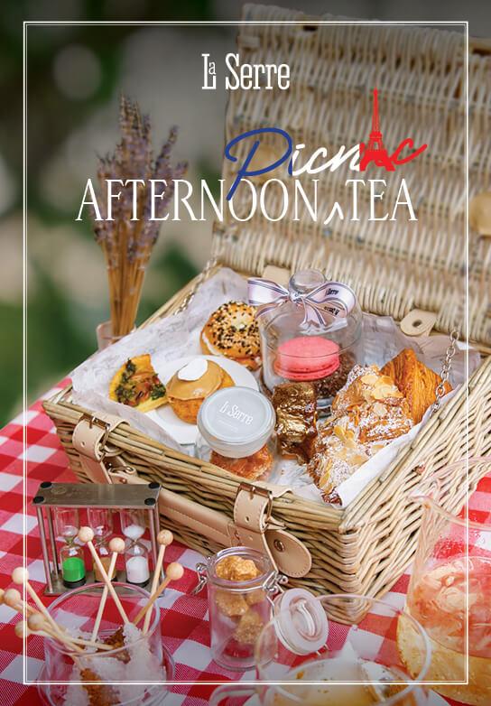 La Serre Afternoon Picnic Tea