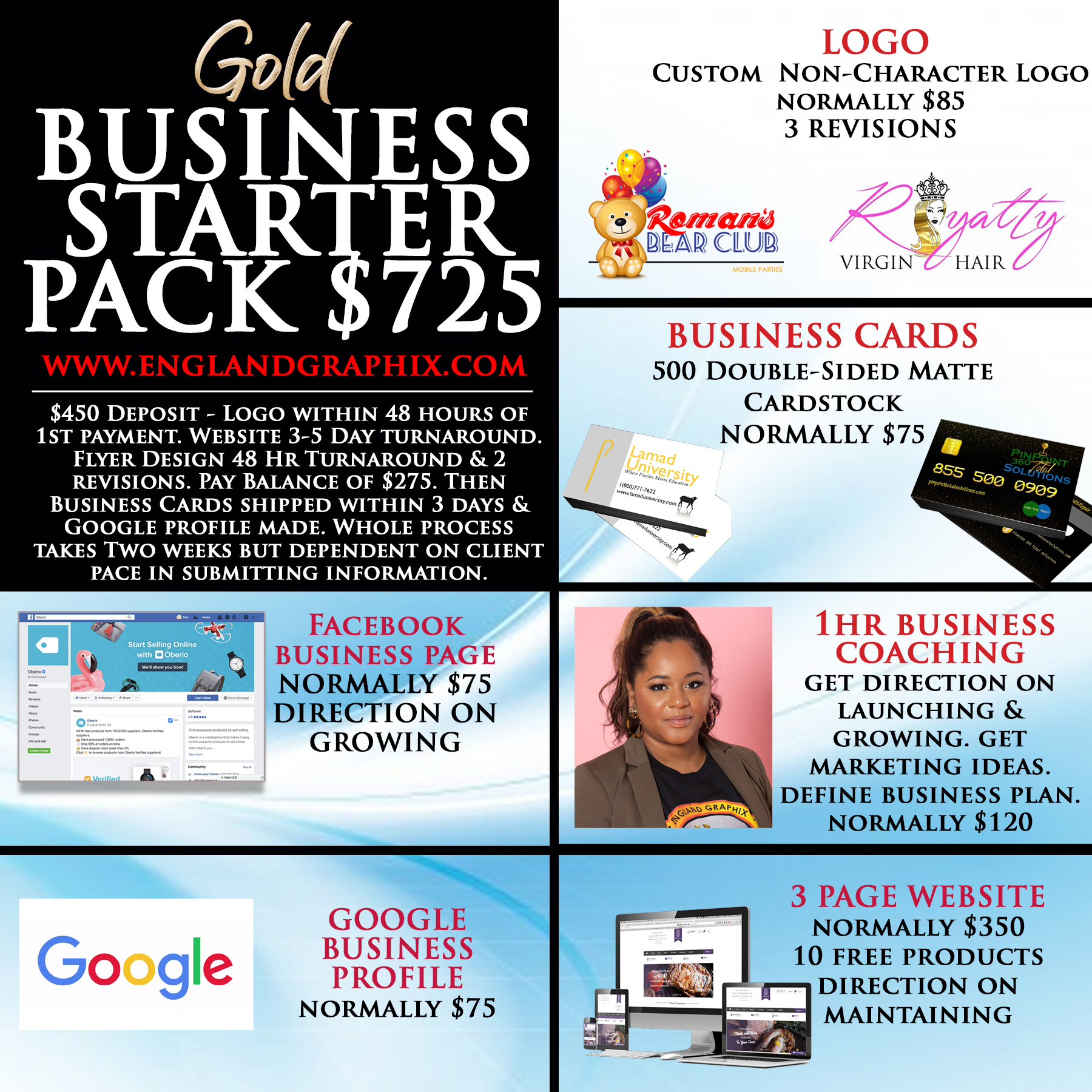 Gold Business Starter Pack