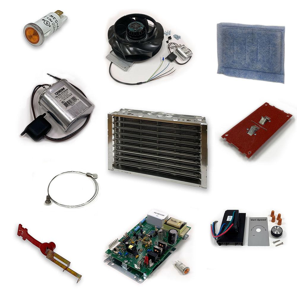 Assortment of MistBuster Parts