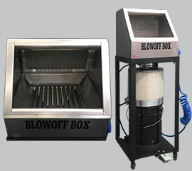 Blow Off Box Air Operated Mist Containment