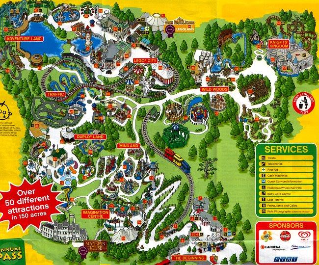 Lego Land Map