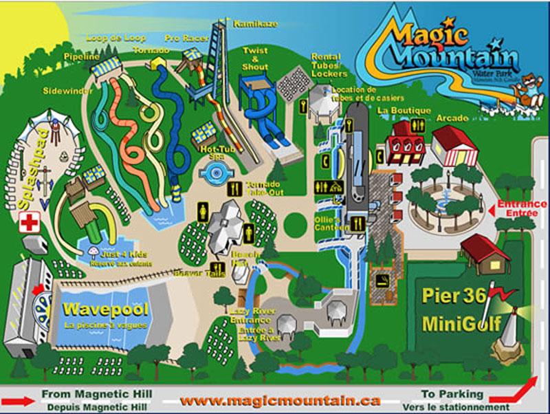 Magic Mountain Water Park