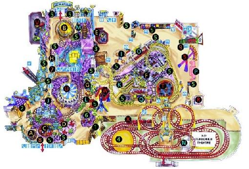 Galaxyland Map