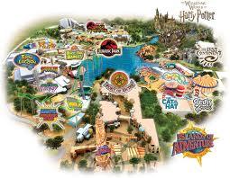 Universal Islands of Adventure map